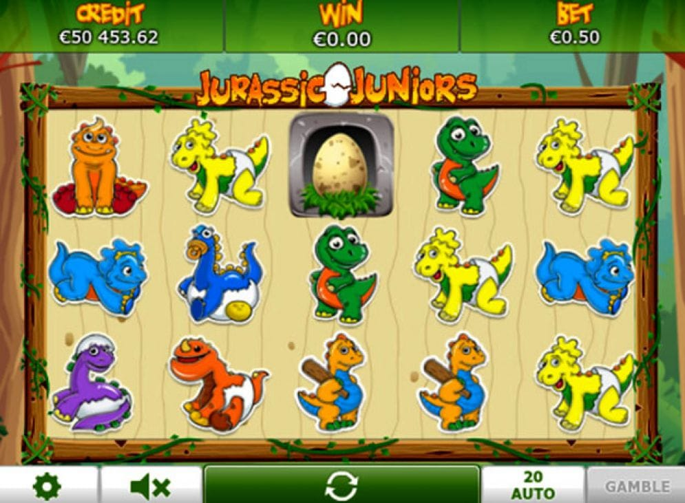 Jurassic Juniors Slots Casino