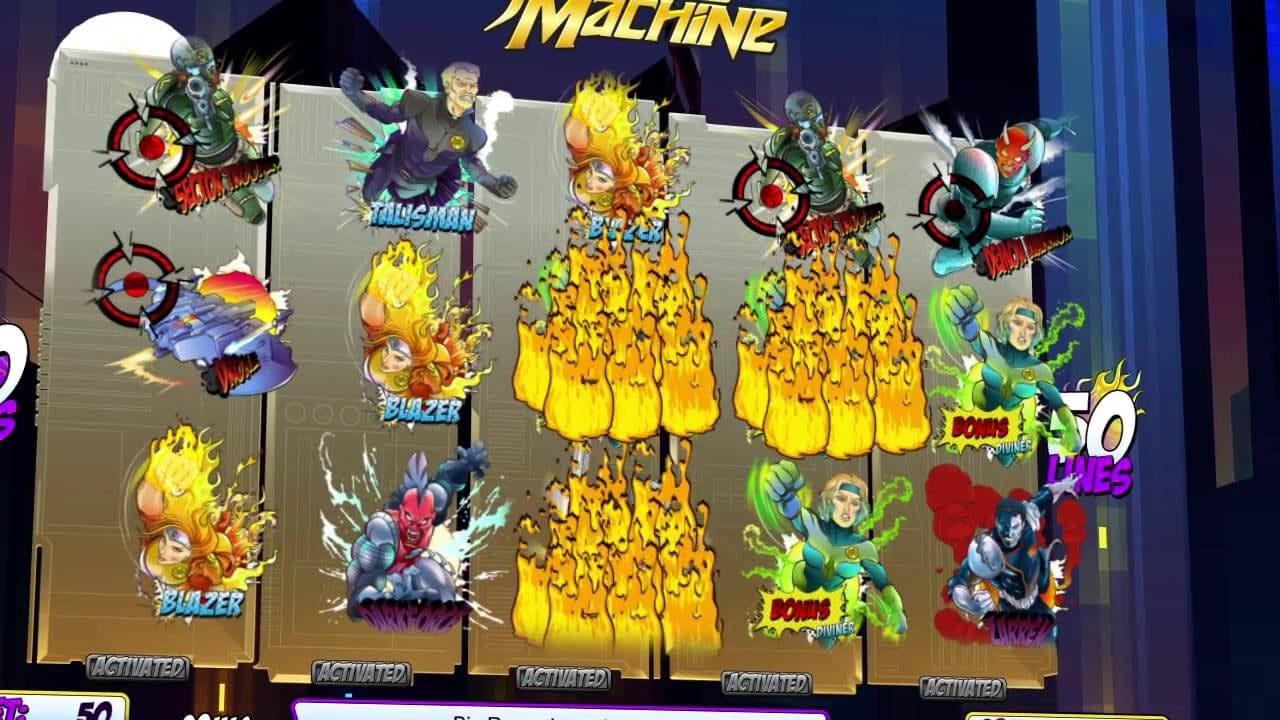 Justice Machine Slots Casino Game Play