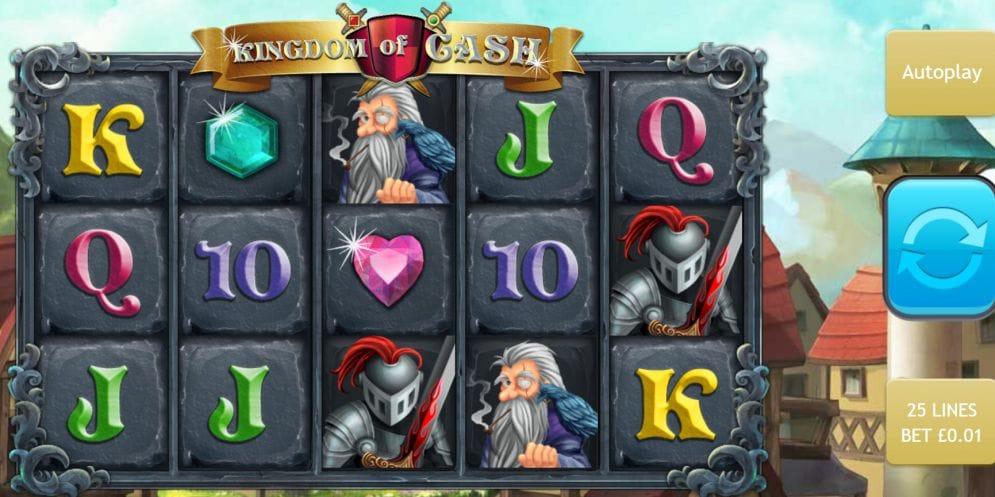Kingdom of Cash Slot Mega Reel