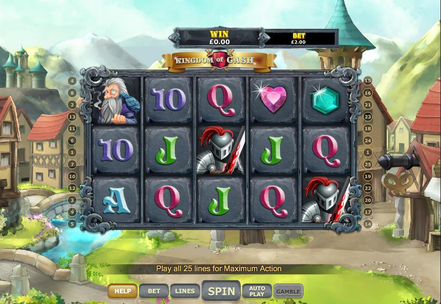 Kingdom of Cash Slots UK Game
