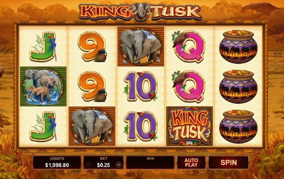 King Tusk Slots UK Casino Games