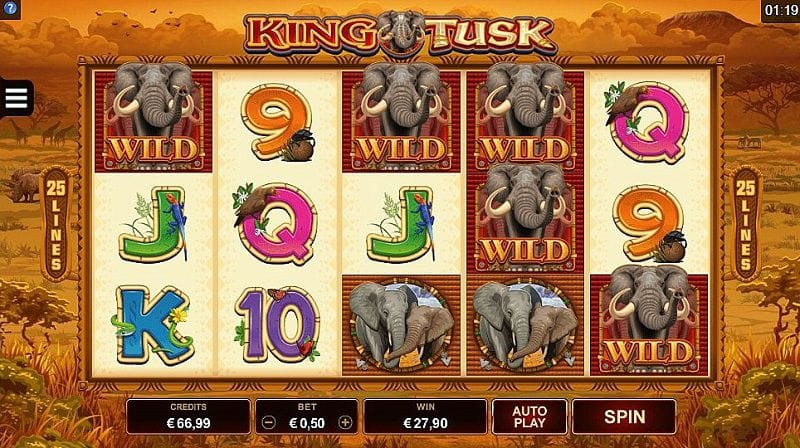 King Tusk Slots UK Casino Online