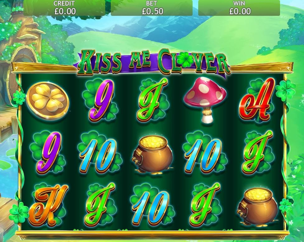 Kiss Me Clover Slot Casino