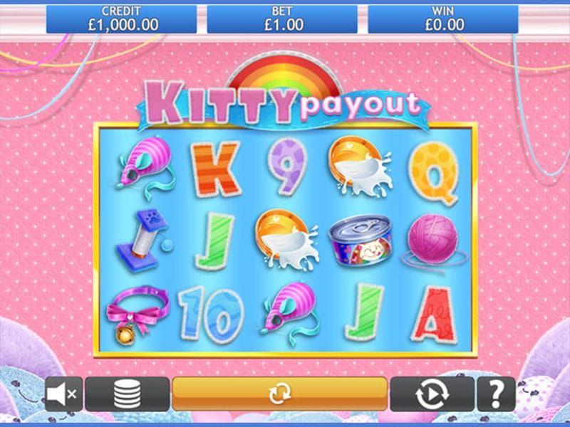 Kitty Payout Slots Game Play