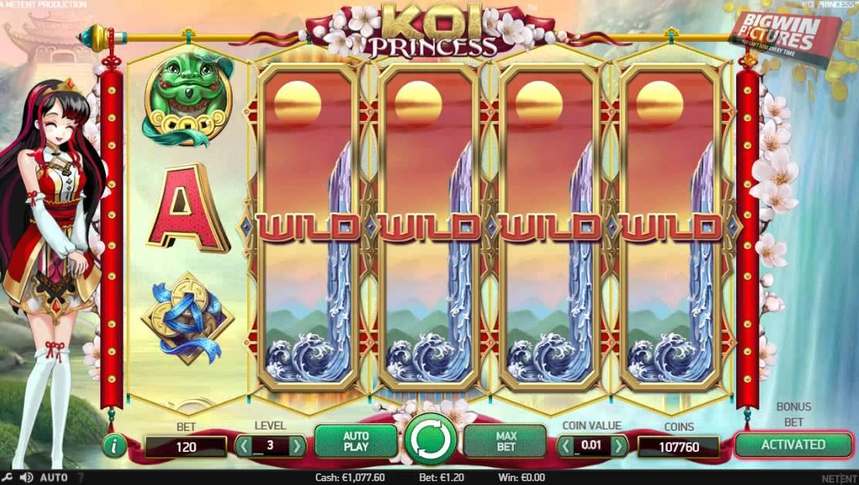 Koi Princess Casino Game Play