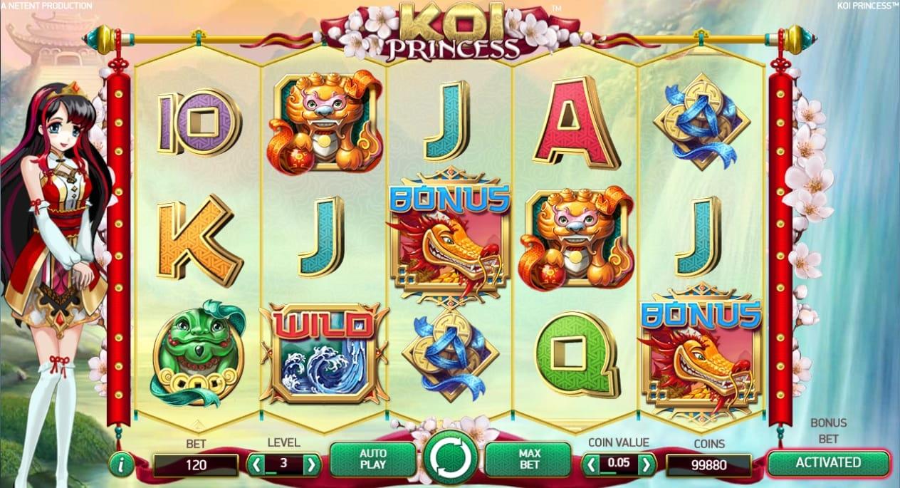 Koi Princess Casino Game