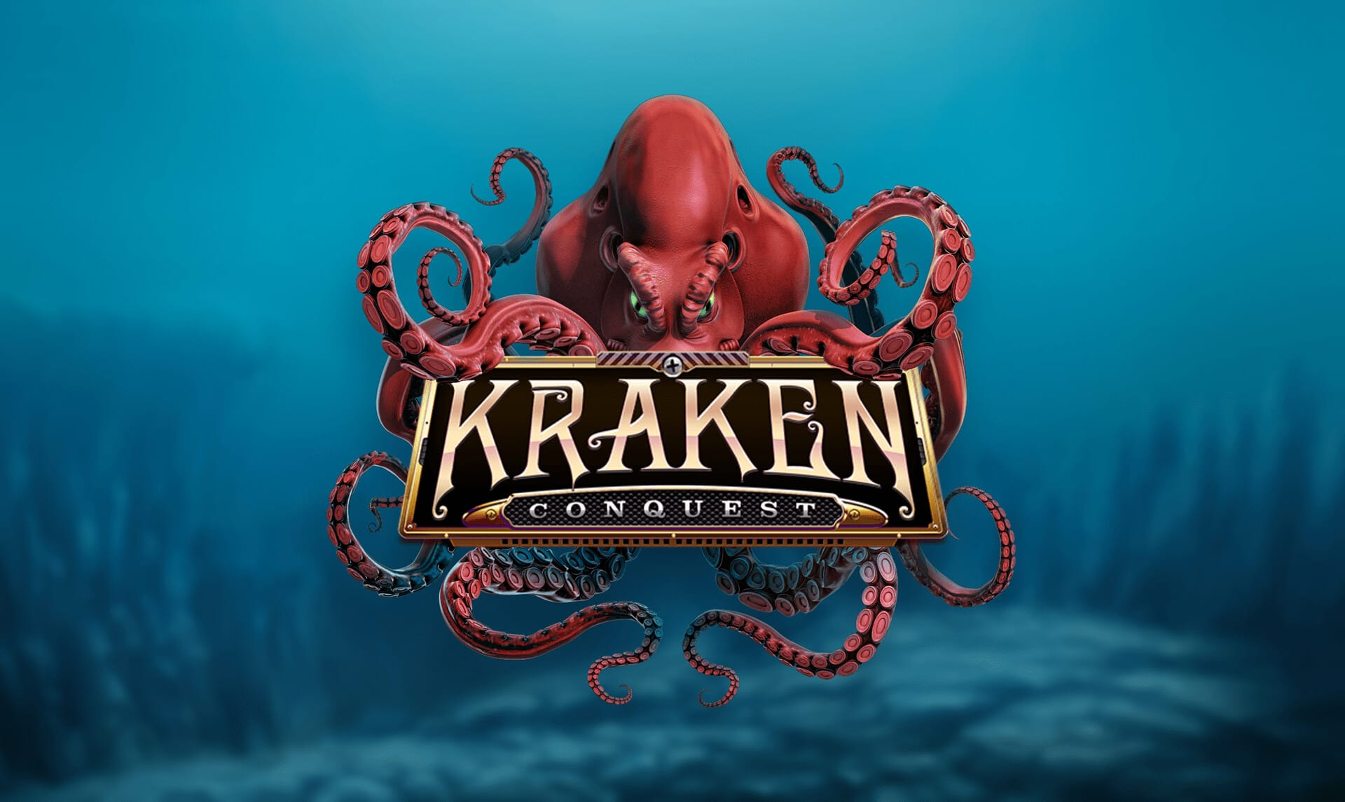 Kraken Conquest Slot Logo Mega Reel