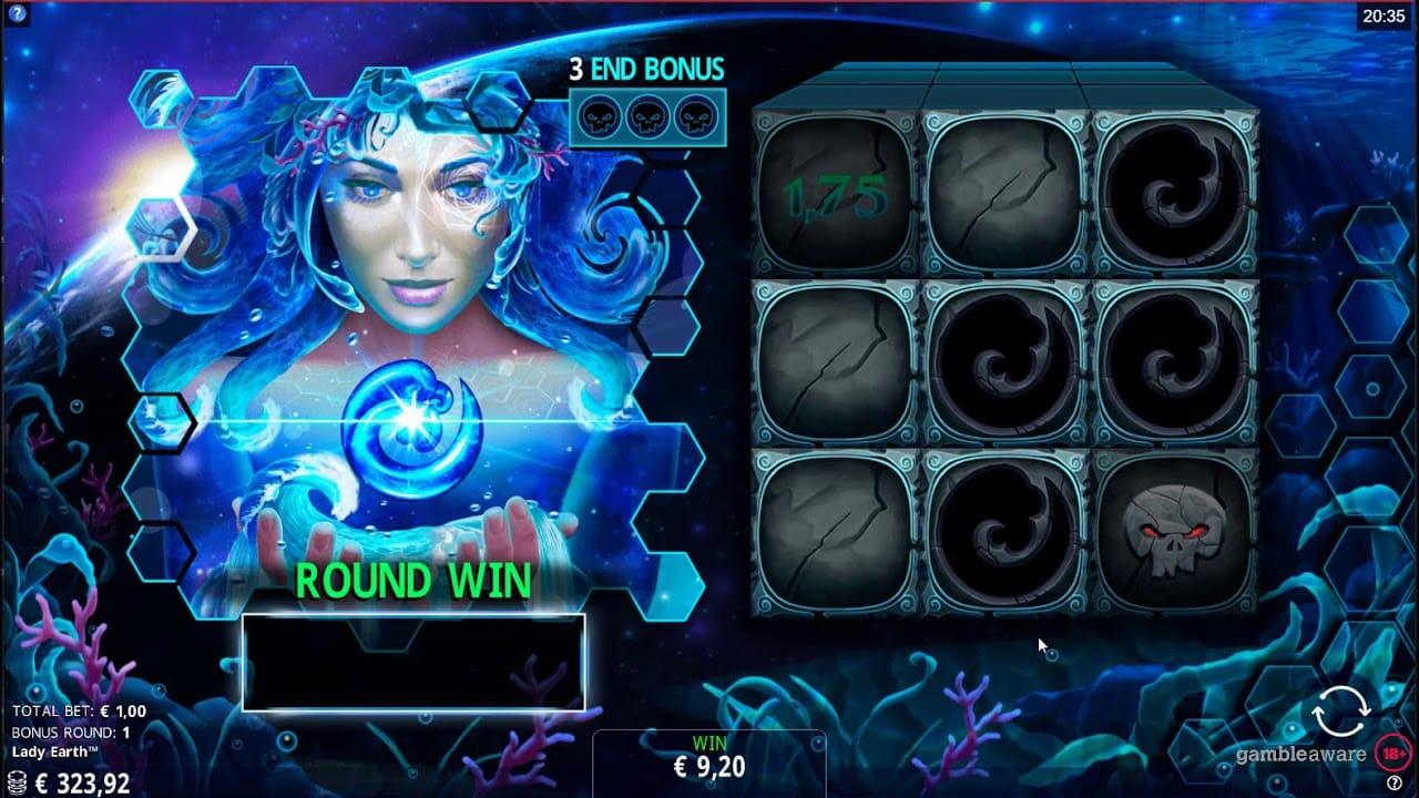 Lady Earth Slot Bonus Games