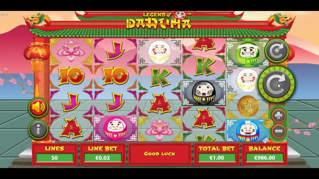 Legend of Daruma Slots
