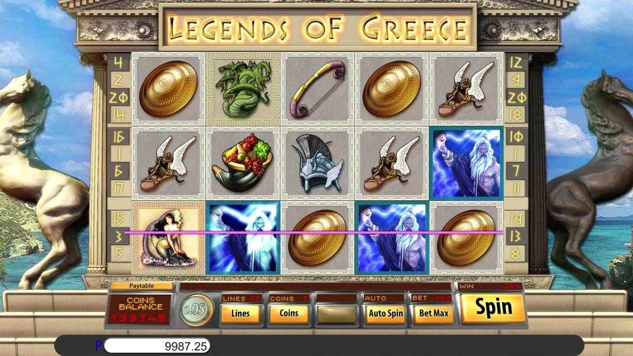 Legends of Greece Game Play