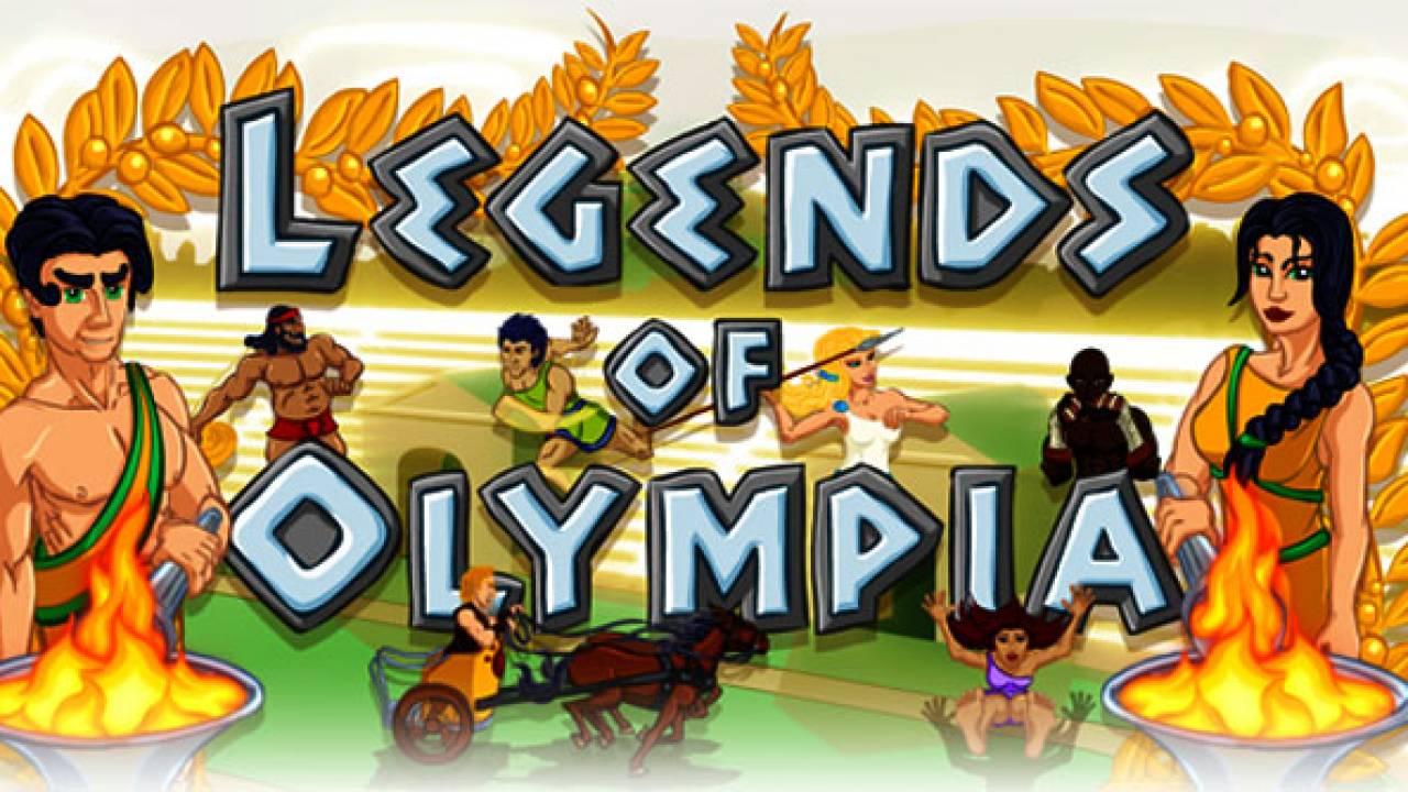 Legends Of Olympia Slot Machine