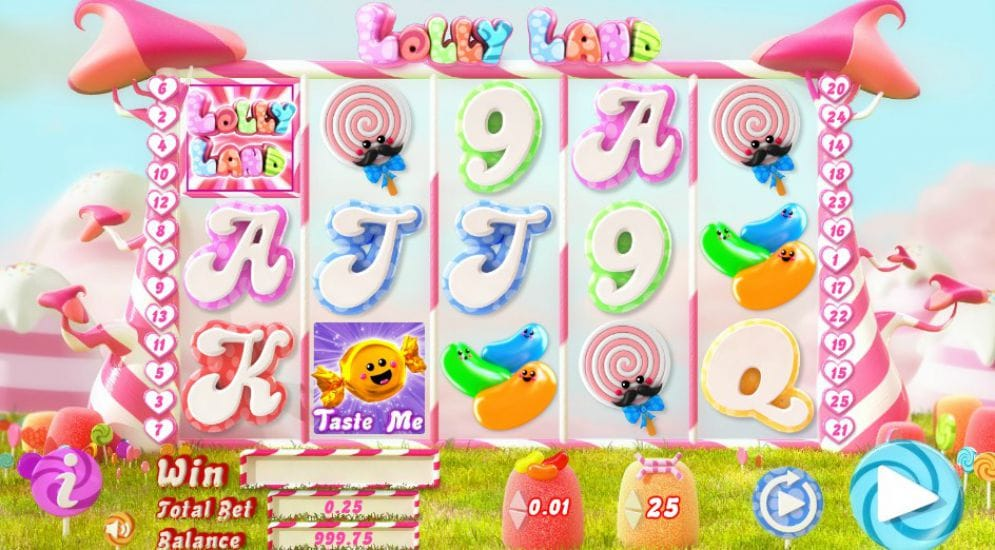 Lolly Land Slots UK Game