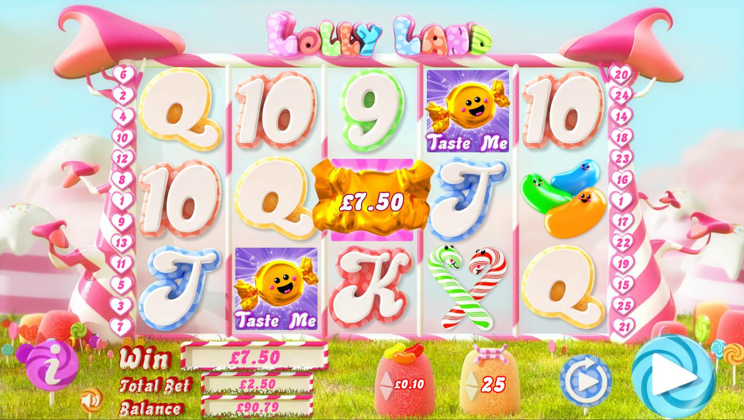 Lolly Land Casino Game