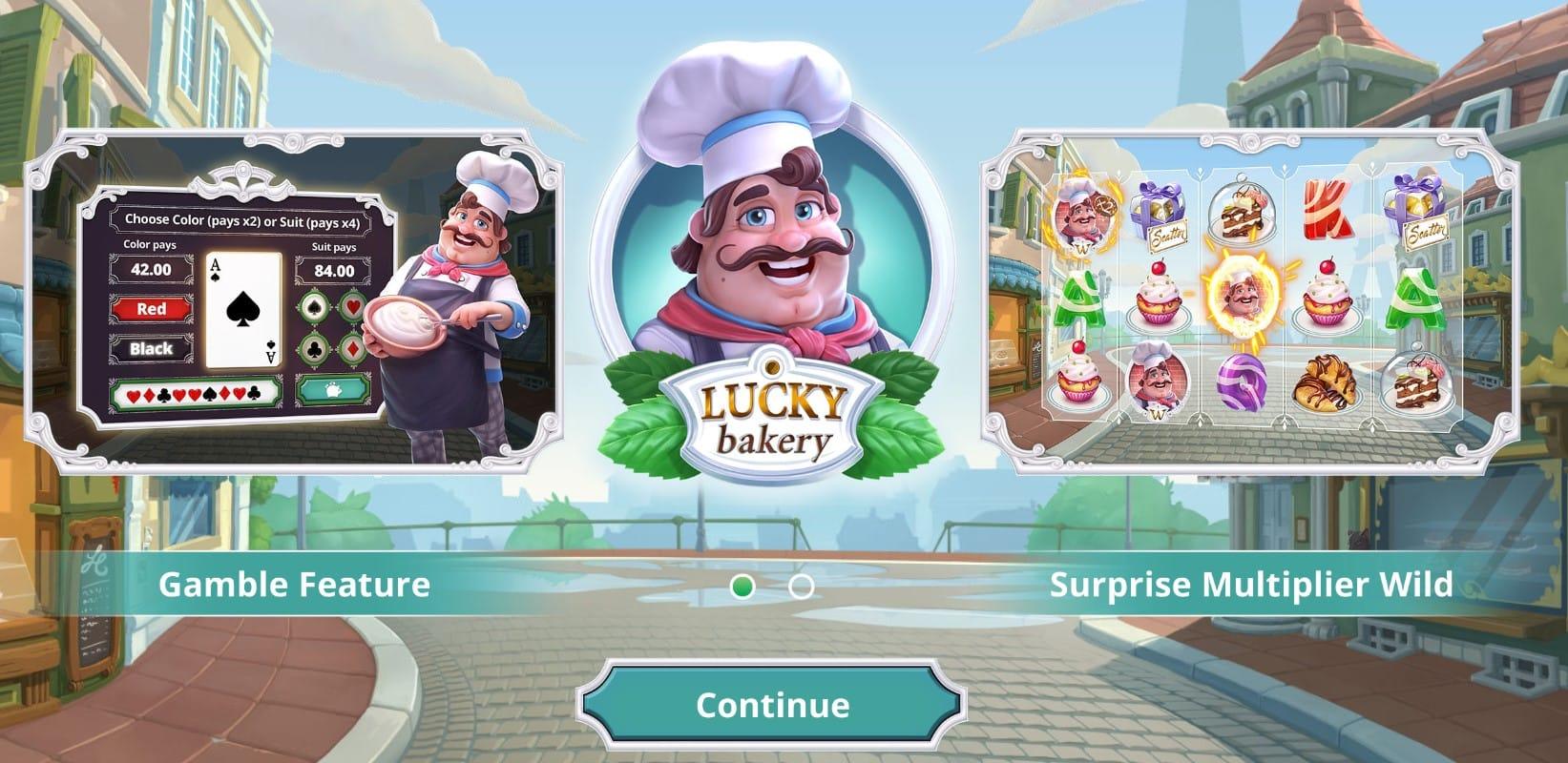 Lucky Bakery Slots Mega Reel