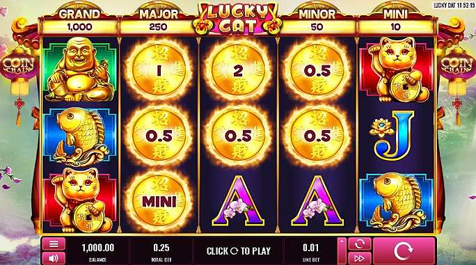 Lucky Cat Slots Game