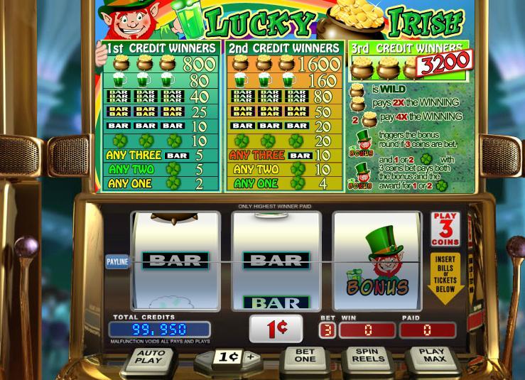Lucky Irish Slot UK Bonus Features Image