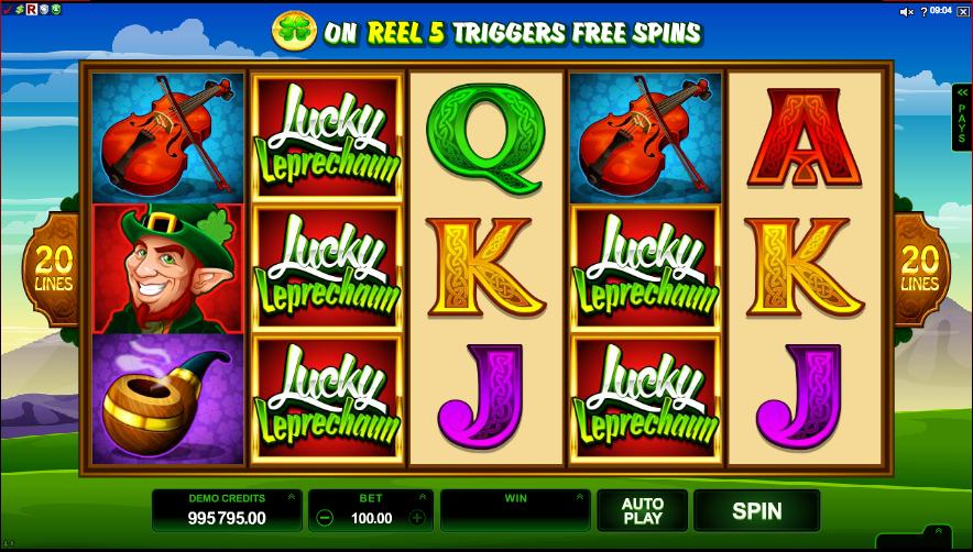 Lucky Leprechaun Slots UK