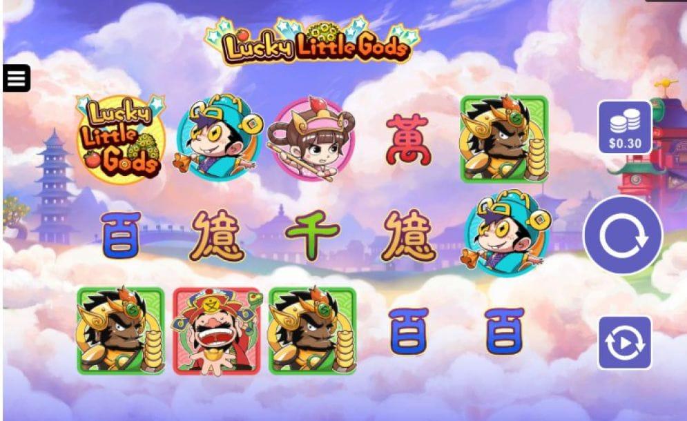 Lucky Little Gods Slot Symbols