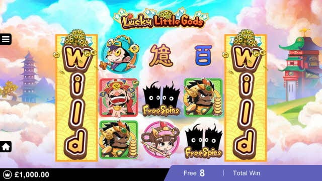 Lucky Little Gods Slots Game
