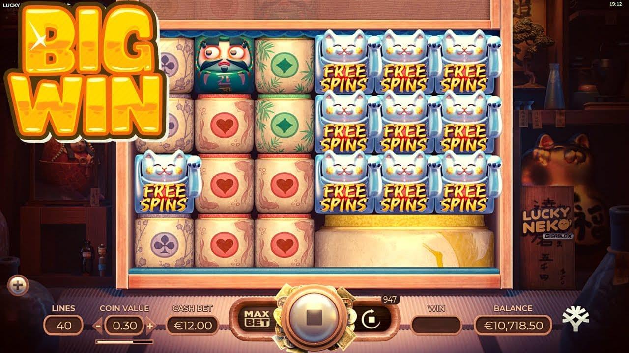 Lucky Neko Slots Online