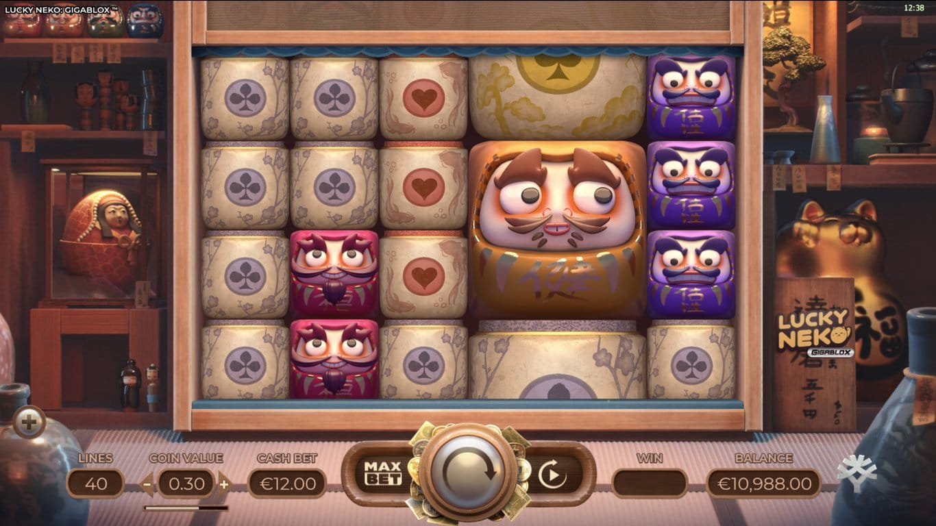 Lucky Neko Gigablox Slots Game