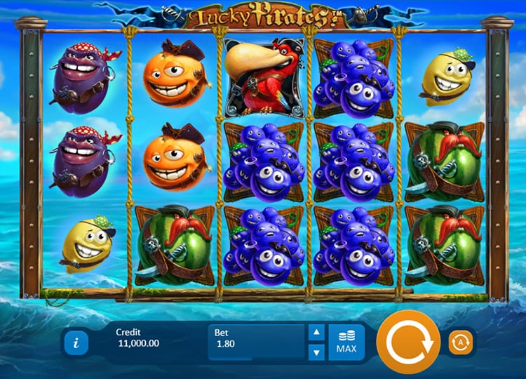 Lucky Pirates Casino Game