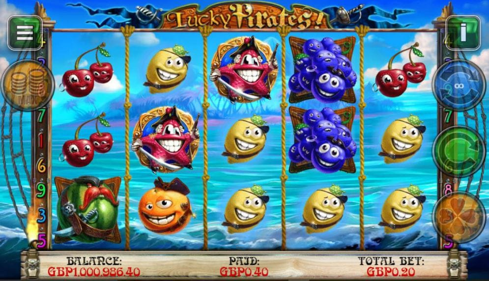 Lucky Pirates Free Slots