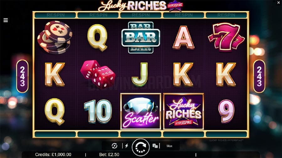 Lucky Riches Hyperspins Slots Game