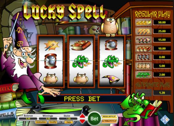 Lucky Spell Mega Reel Slot