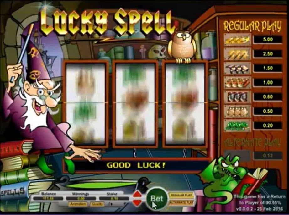 Lucky Spell Casino Game