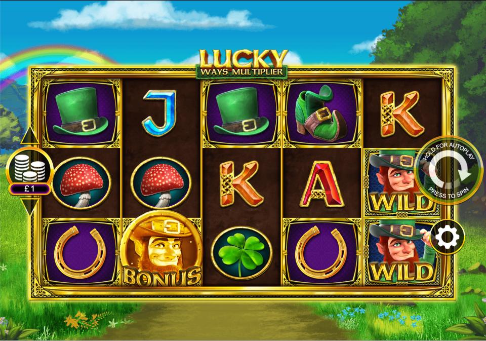 Lucky Ways Multiplier Slots Online