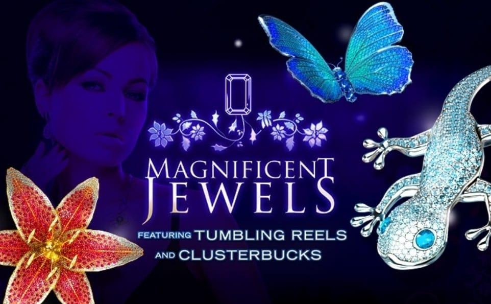 Magnificent Jewels Slots Mega Reel