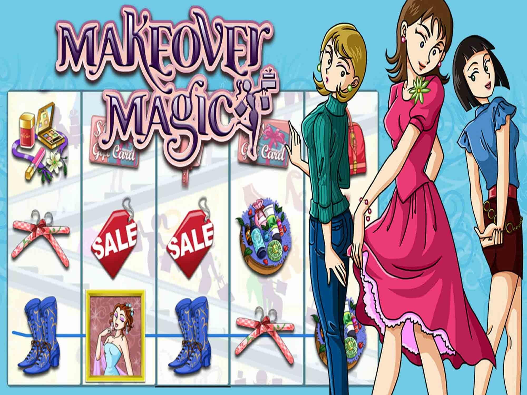 Make Over Magic Slots Mega Reel