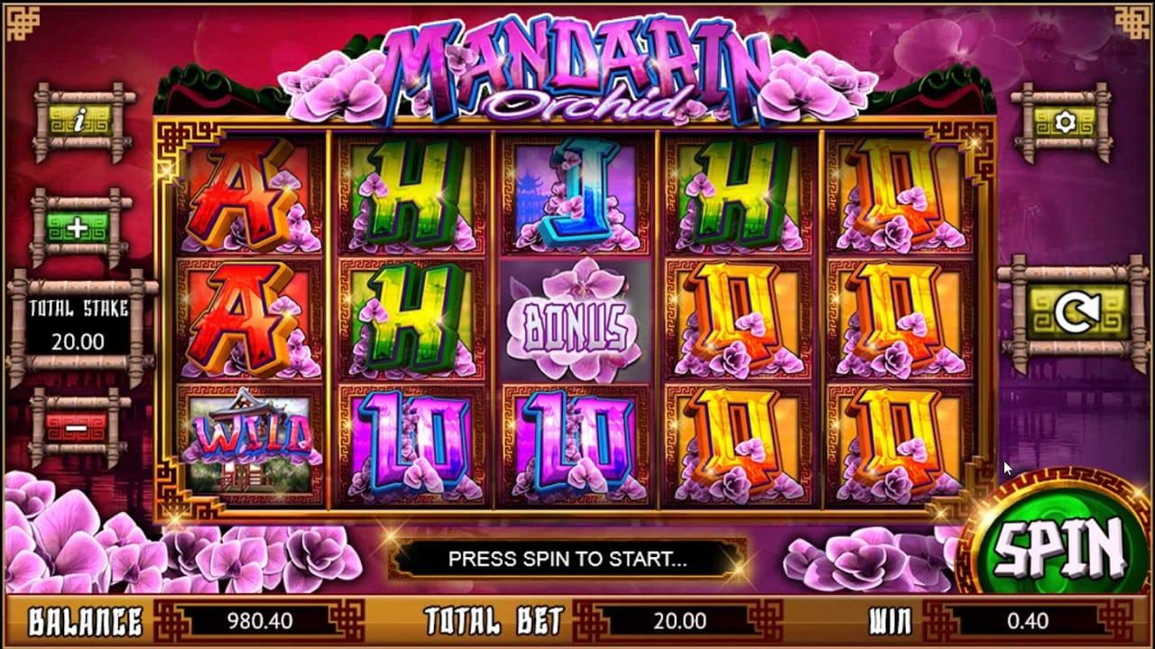 Mandarin Orchid Slots Online