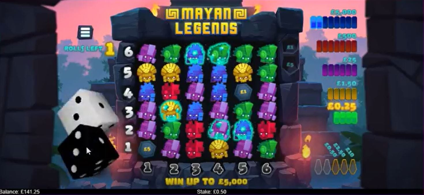 Mayan Legends Game Play