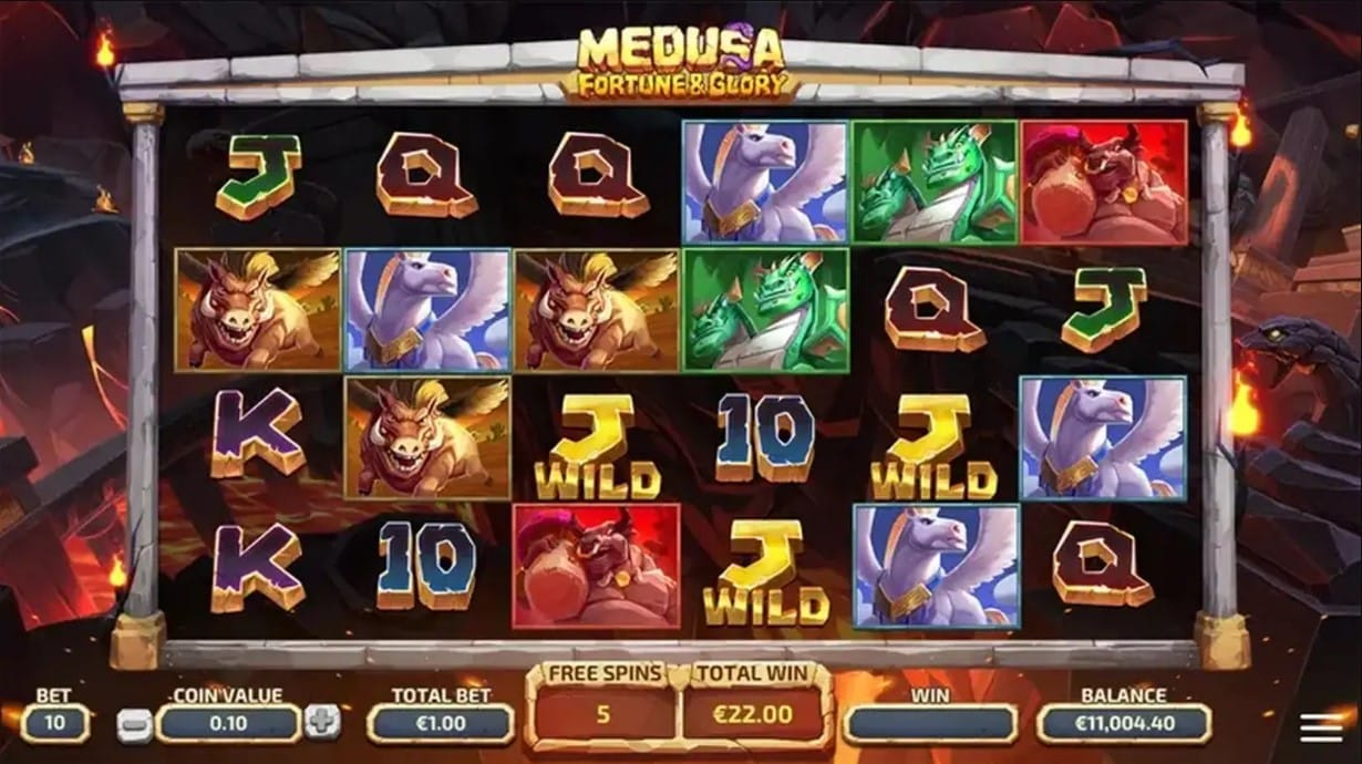 Medusa Fortune and Glory Slots Online