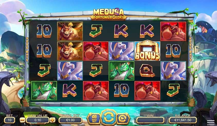 Medusa Fortune and Glory Slot Game