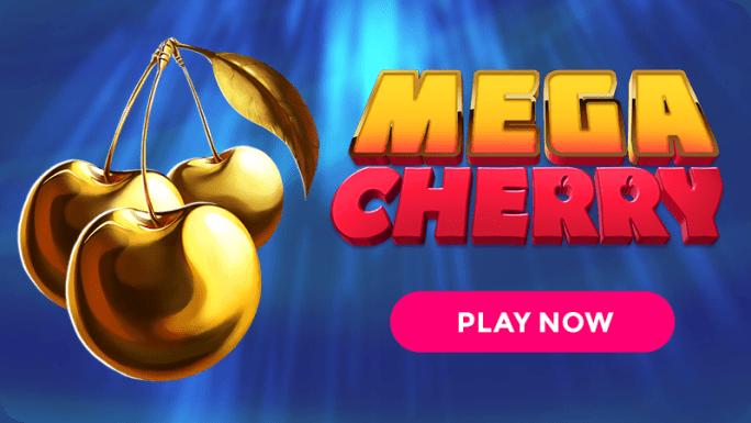 Mega Cherry Slot Logo Mega Reel