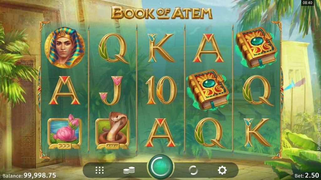 Book of Atem Online Casino Slot