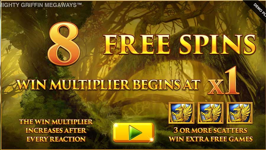 Mighty Griffin Megaways Free Spins Slots