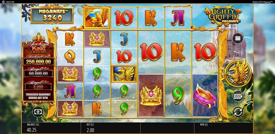 Mighty Griffin Megaways Slots Game Play