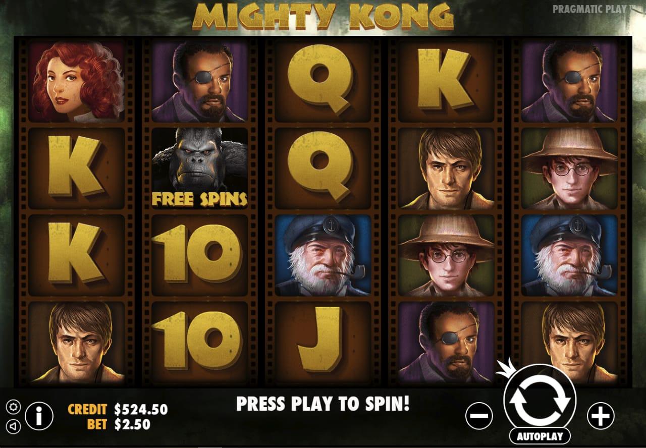 Mighty Kong Free Slots