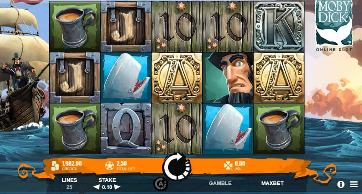 Moby Dick Slots UK
