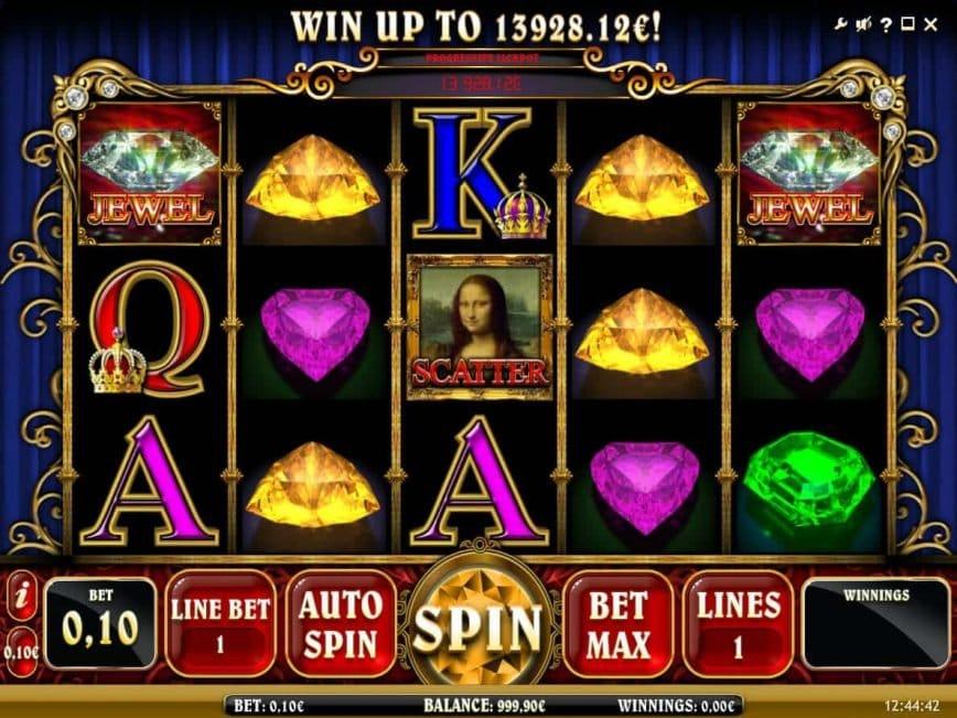 Mona Lisa Jewels Casino Game