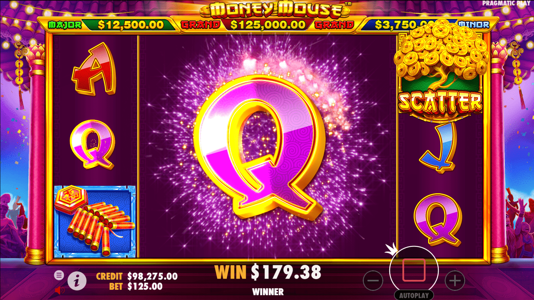 Money Mouse Slots Reels