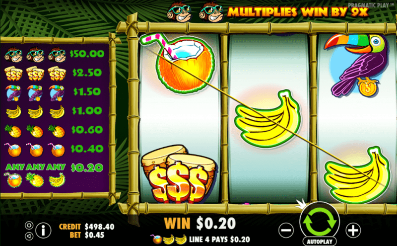 Monkey Madness Game Play