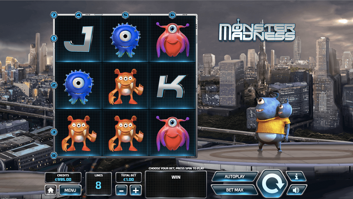 Monster Madness Slots UK