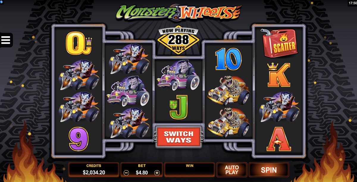 Monster Wheels Casino Games