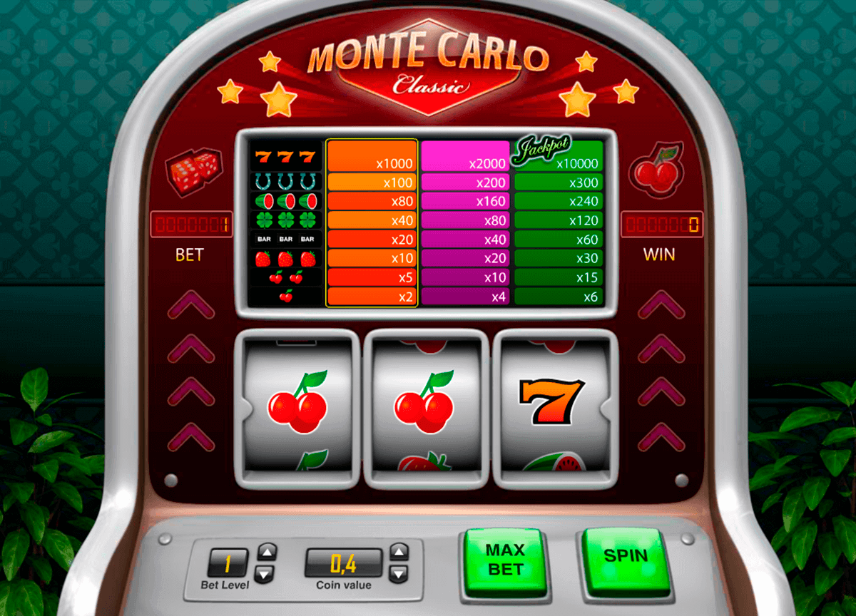 Monte Carlo Classic Casino Game Play¨'