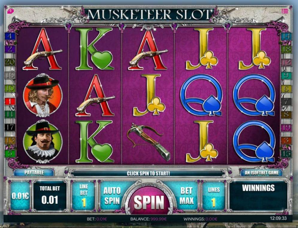 Musketeer Slot Game